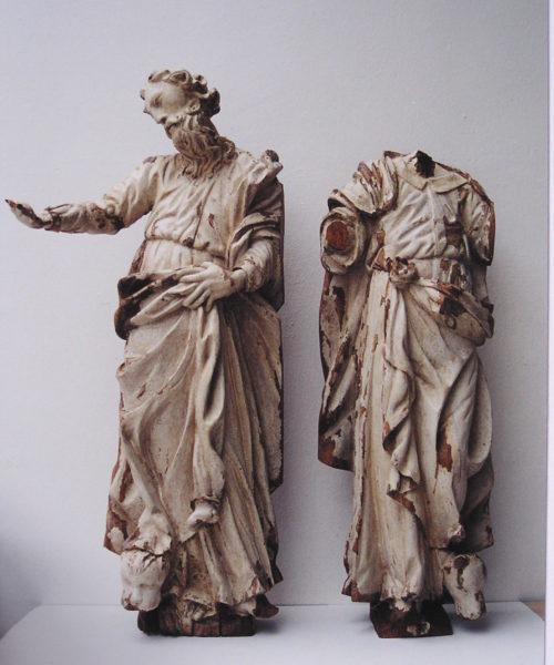 St. Mark and St. Luke, After Restoring