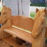 horse bench
