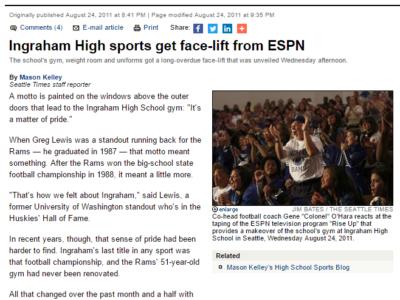 ESPN rise up
