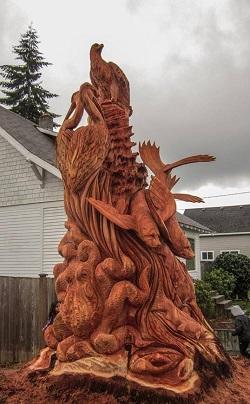 How to commission a tree stump sculpture tomas vrba studio